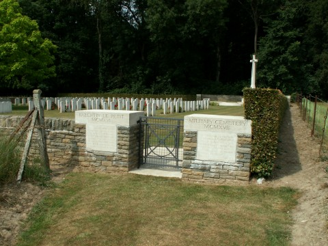 Bazentin-Le-Petit Military Cemetery, France