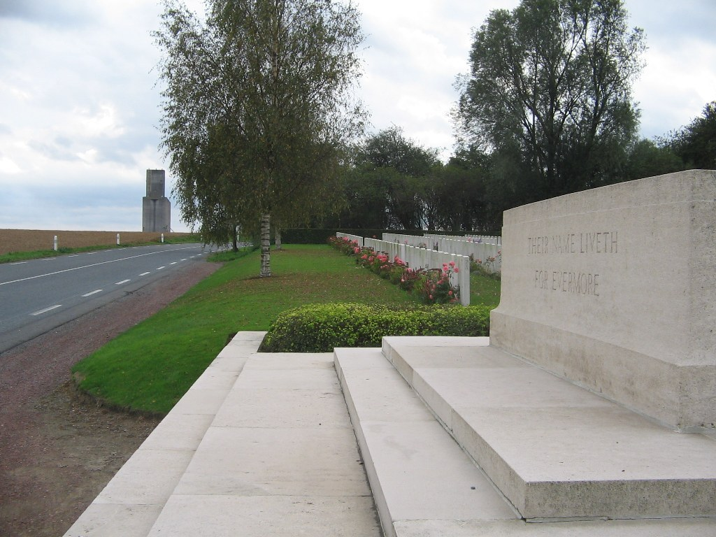 Bucquoy Road Cemetery
