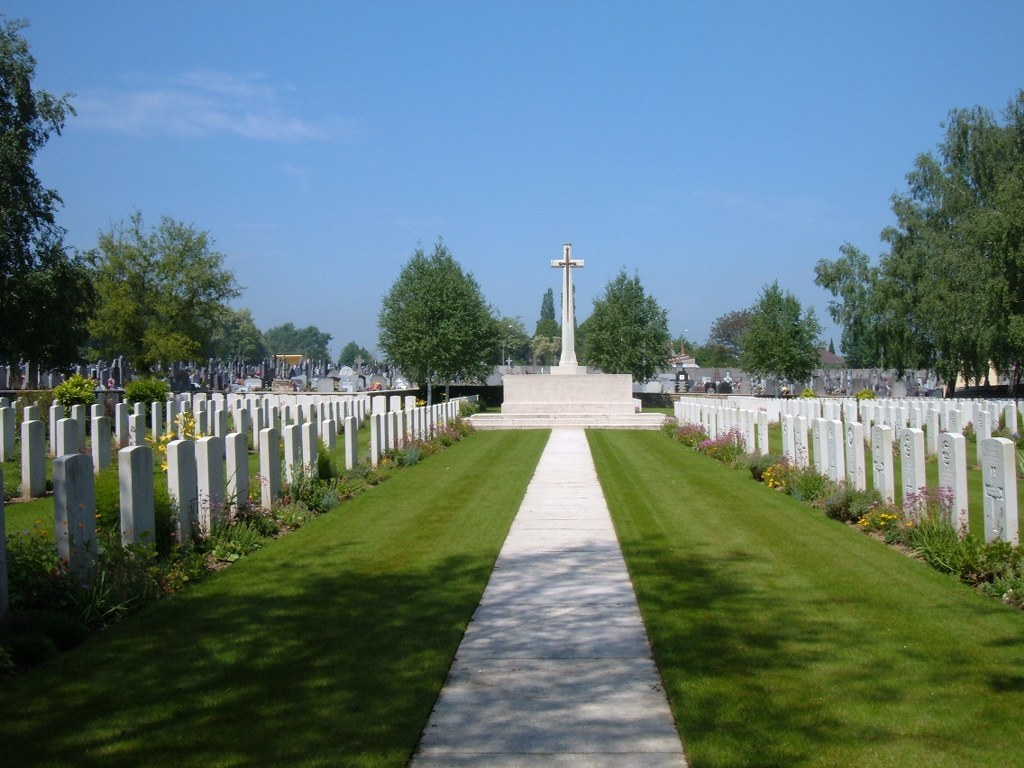 Bully-Grenay Communal Cemetery, British Extension
