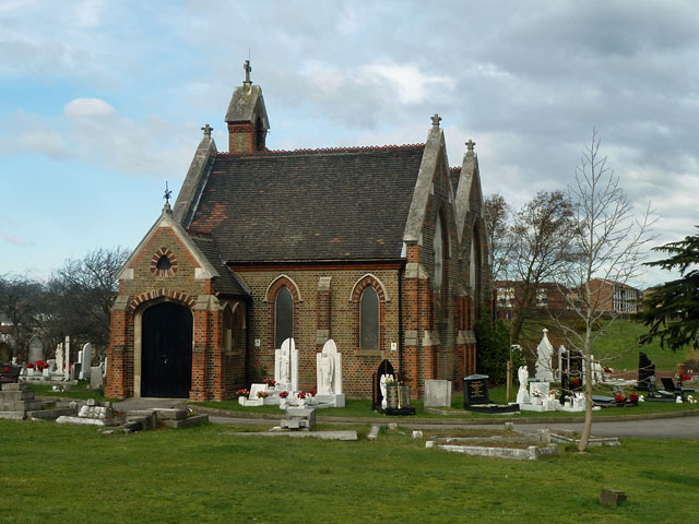 Erith Cemetery, Brook Street, Erith
